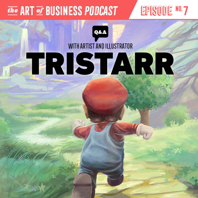 Podcast Interview for The Art of Business. I talk about freelance and trying to be an artist.