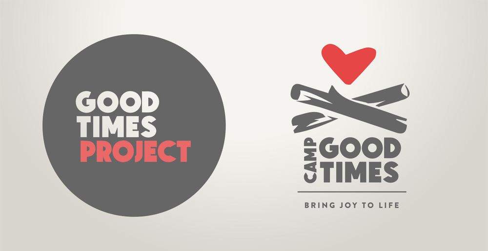Logo design for both Good Times Project and the camp itself.