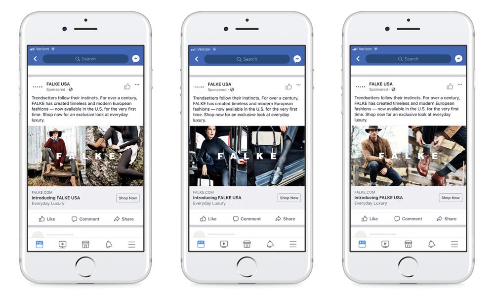 Facebook campaign,static ads