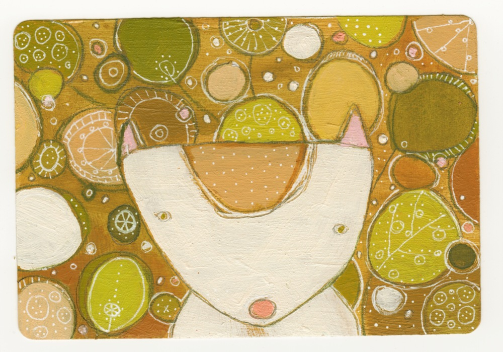 Playing card ACEO # 5
