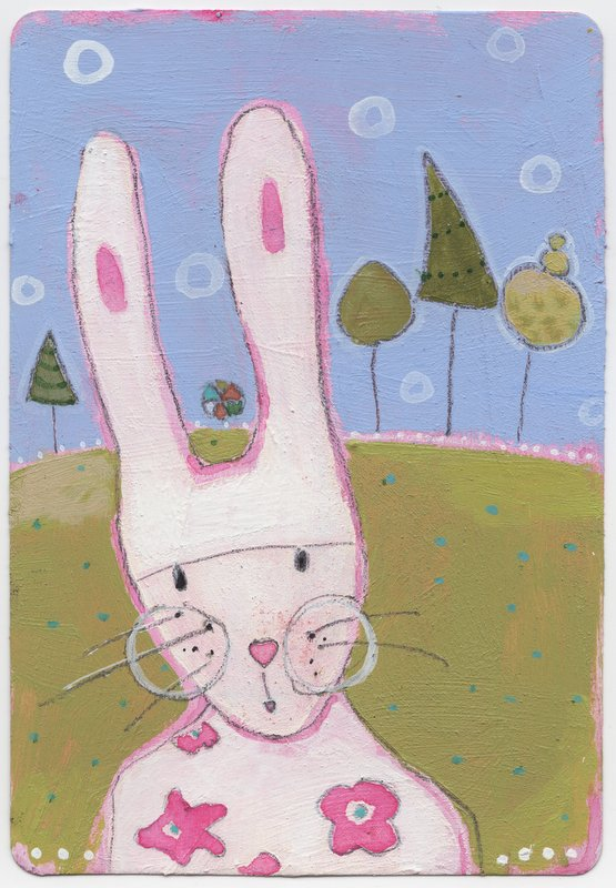 Jumbo Playing Card ACEO #1