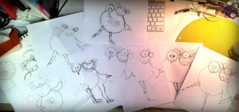 Sketches and Refined Sketches for MATS bootcamp assignment