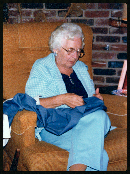 "Doris Mae Wilson Moore Allen Howarth , aka ""Marm"" and ""Nanny"""