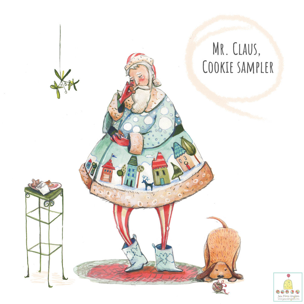 Mr. Claus, Cookie Sampler