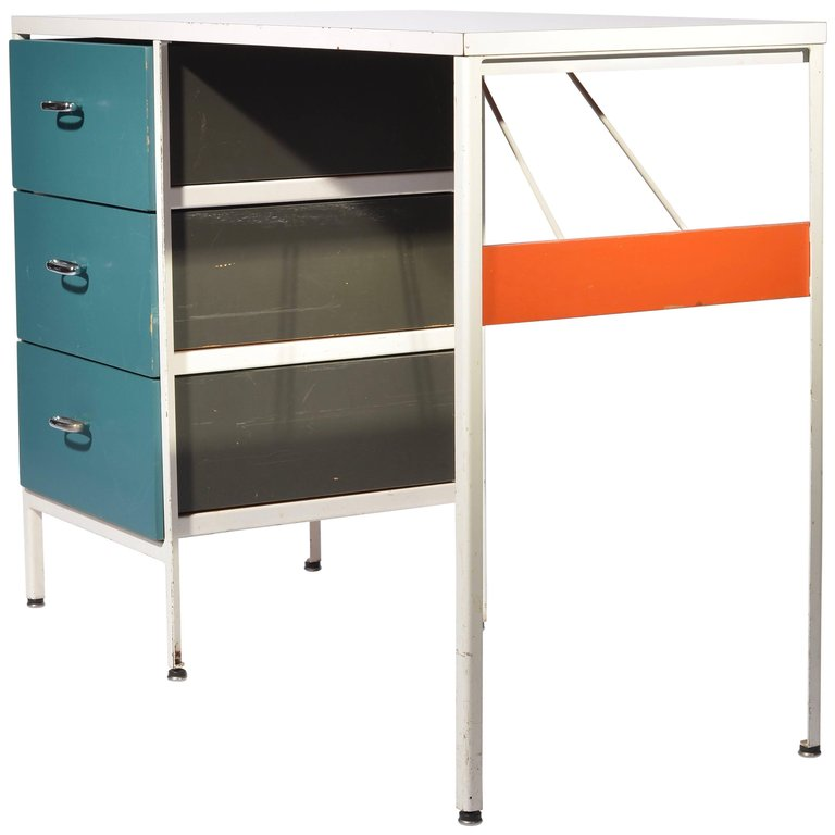 George Nelson Steel Frame Desk For Herman Miller