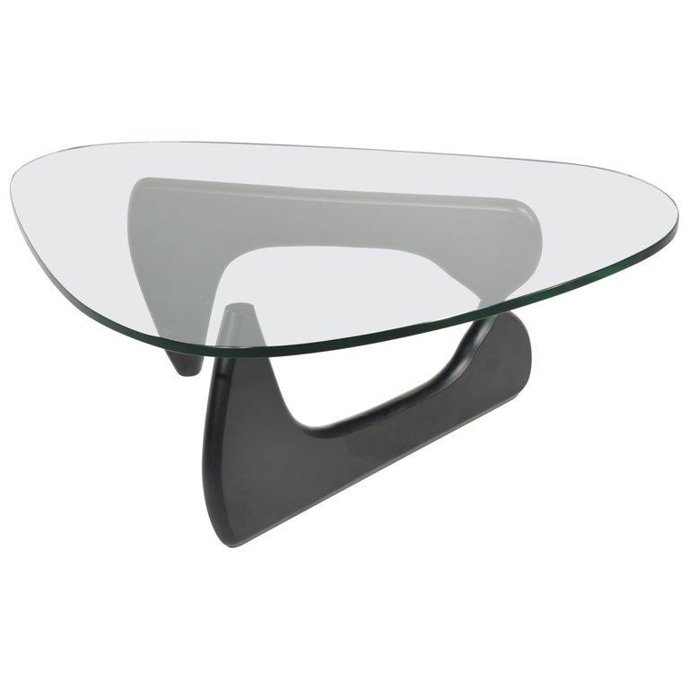 Original Isamu Noguchi Sculpture Coffee Table For Herman Miller In Black Motley