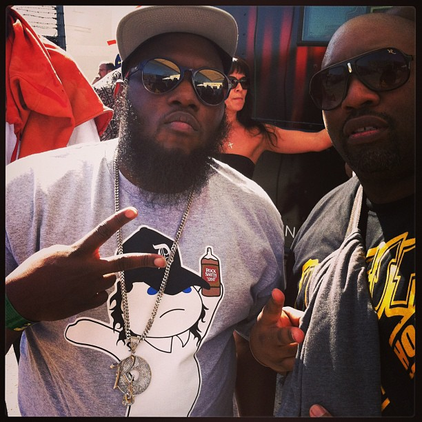 With Freeway @ SXSW 2013