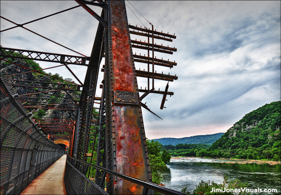 B & O Railroad Bridge at Harpers Ferry