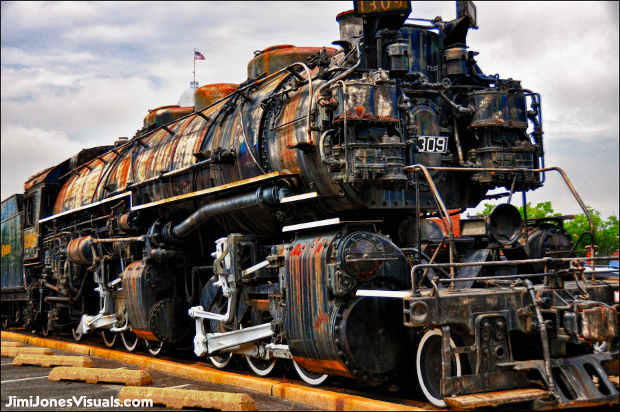 Weathered Locomotive