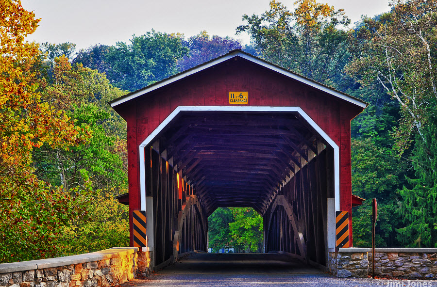 Covered Bridge - Pequea Creek