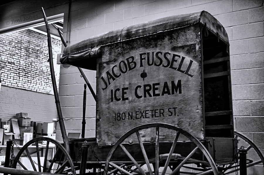 Jacob Fussell Ice Cream - B&W