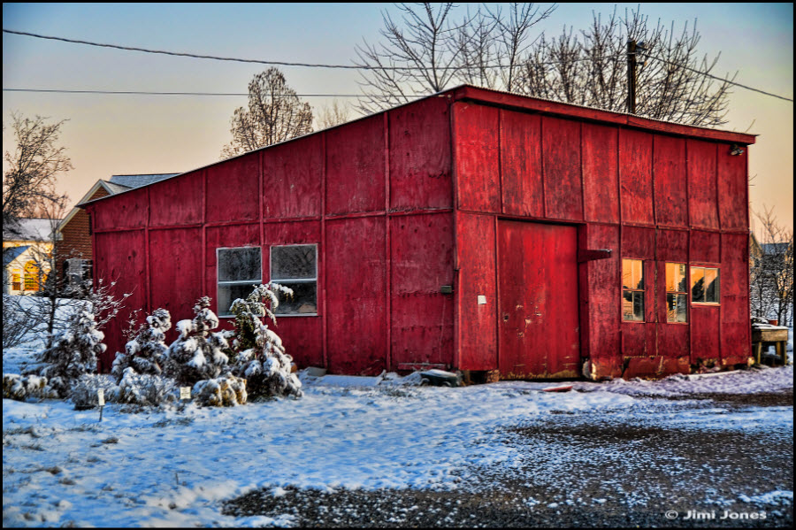 Red Shed Photo