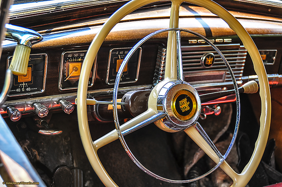 1949 Dodge Coronet Woody Steering Wheel