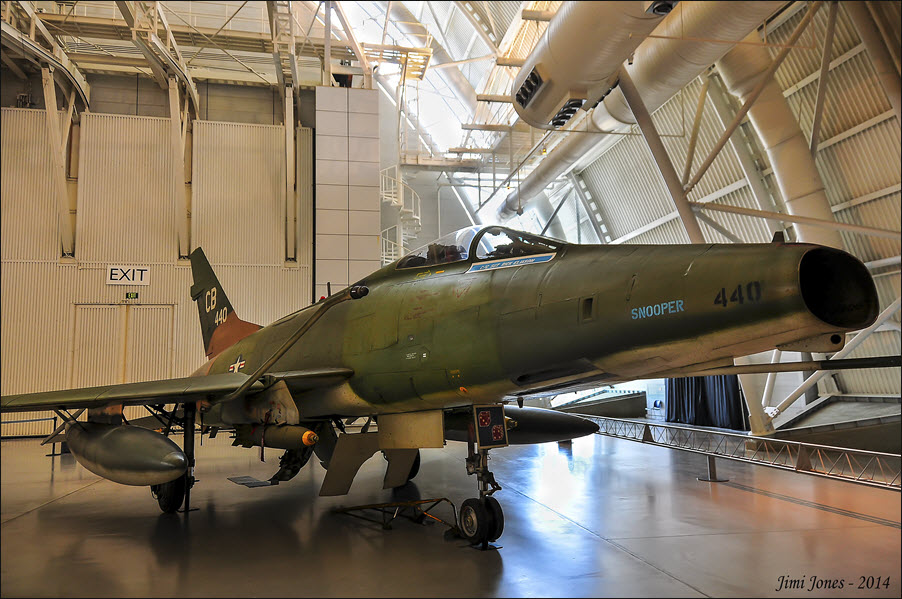 F-100D Super Sabre - Front View