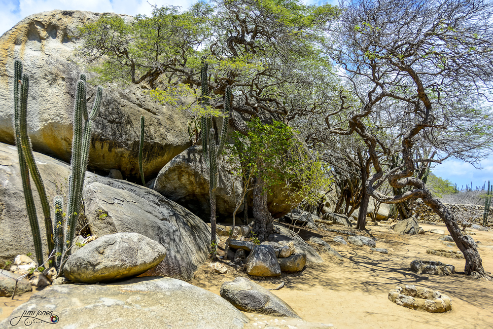 Casibari Rock Formation - Ground Level