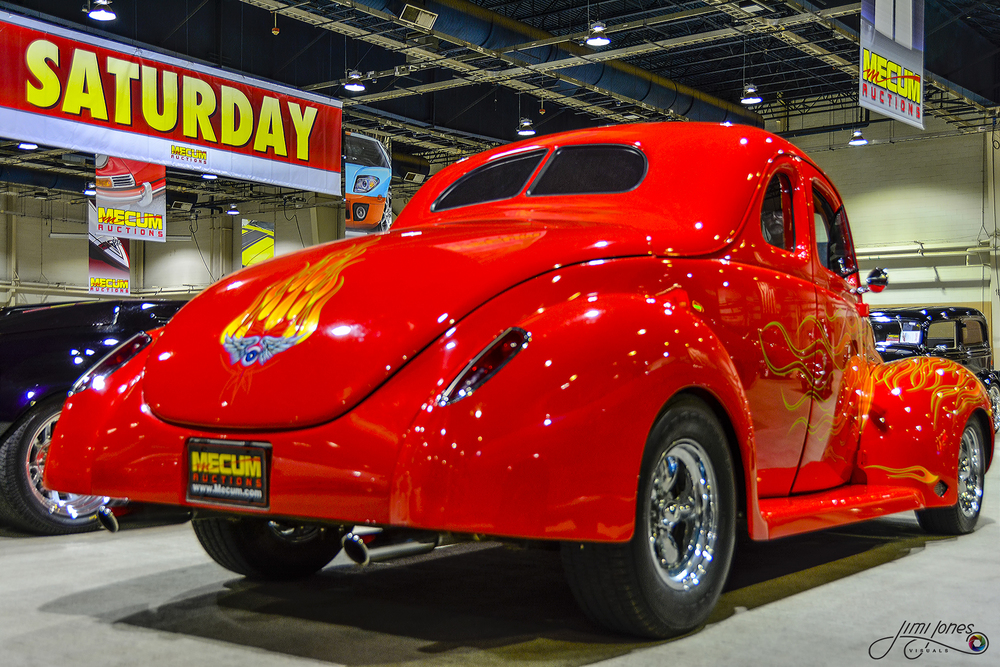 1940 Ford Coupe - Rear View