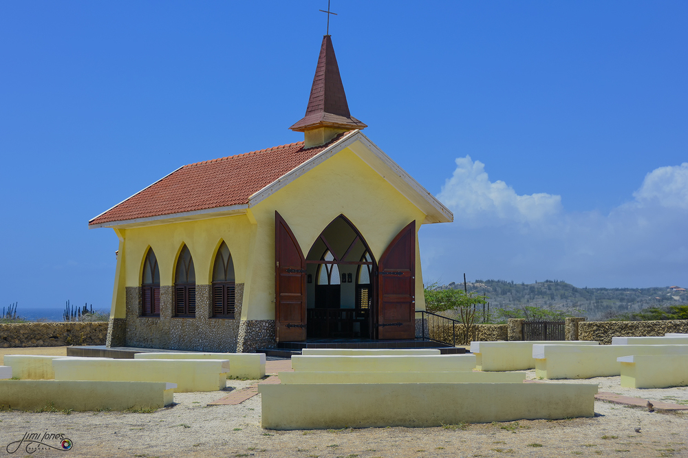 Alto Vista Chapel with Outdoor Pews