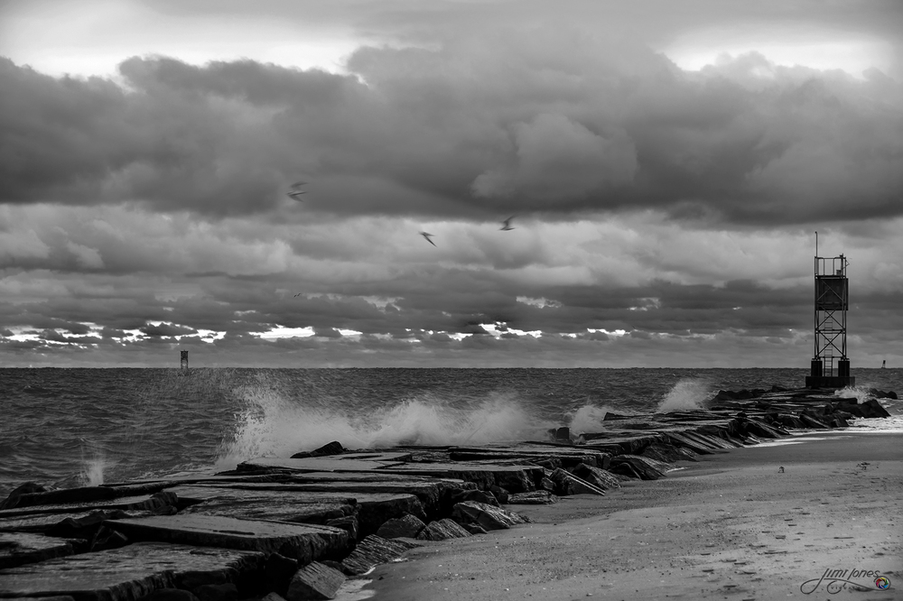 Along the Jetty - B&W.jpg