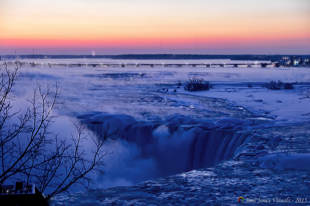 Dawn at Horseshoe Falls - Ontario Canada