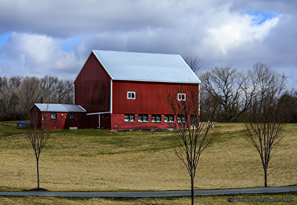 Red Barns in Rural America
