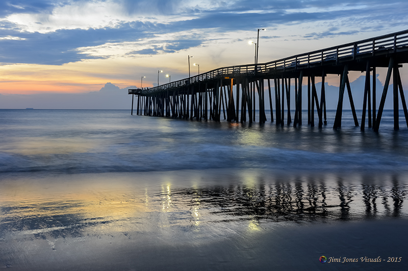 Beach life baltimore landscape photographer for Va beach fishing pier