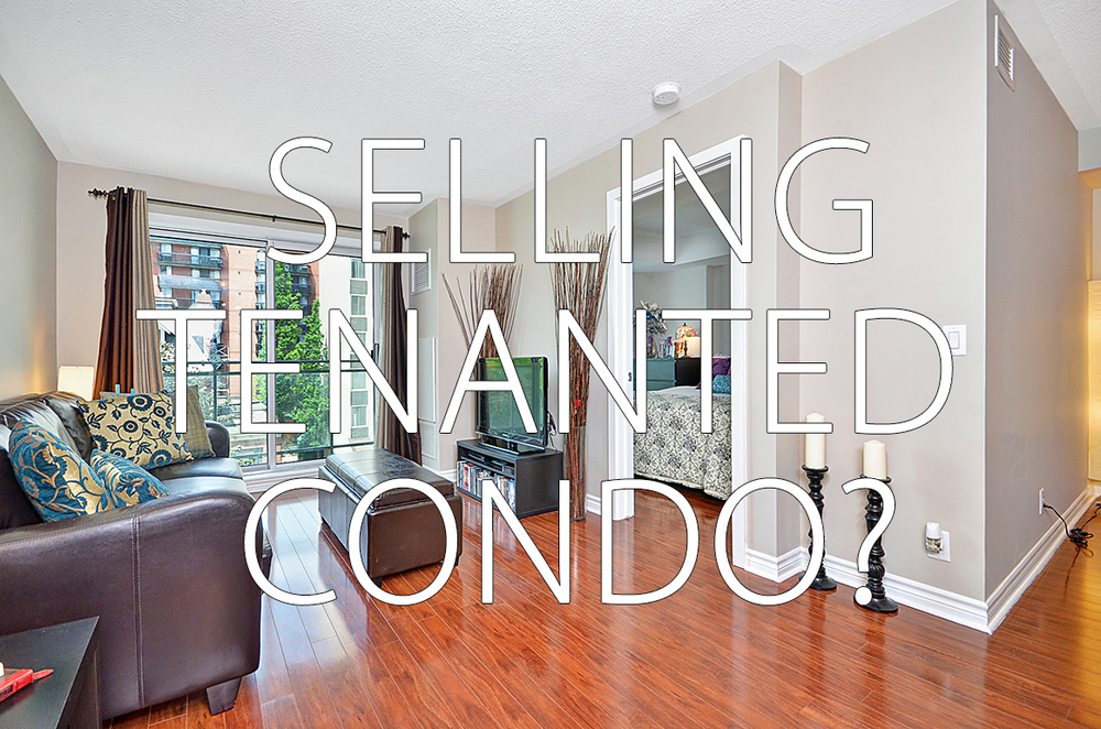 Selling Tenanted Condo In Ottawa
