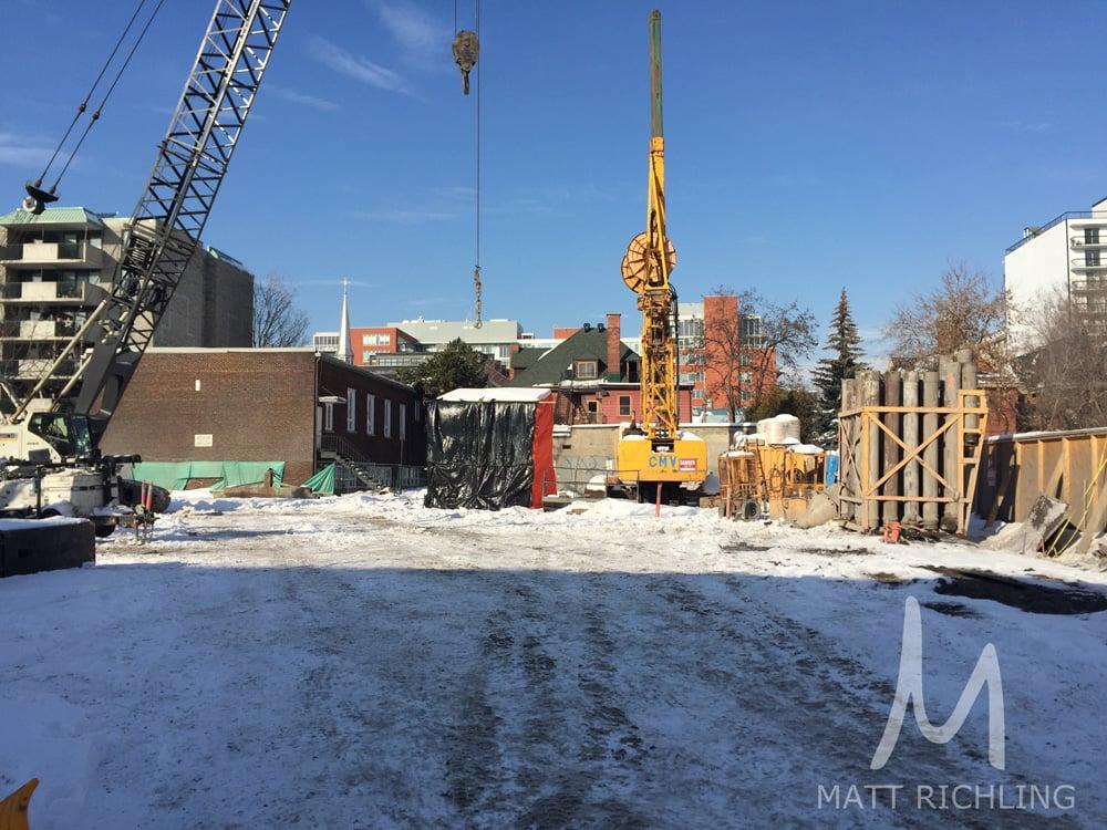 SoBa Condos Ottawa Catherine Street Construction
