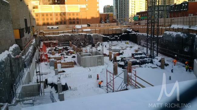Construction Progress of Arthaus Condos from DevMcGill