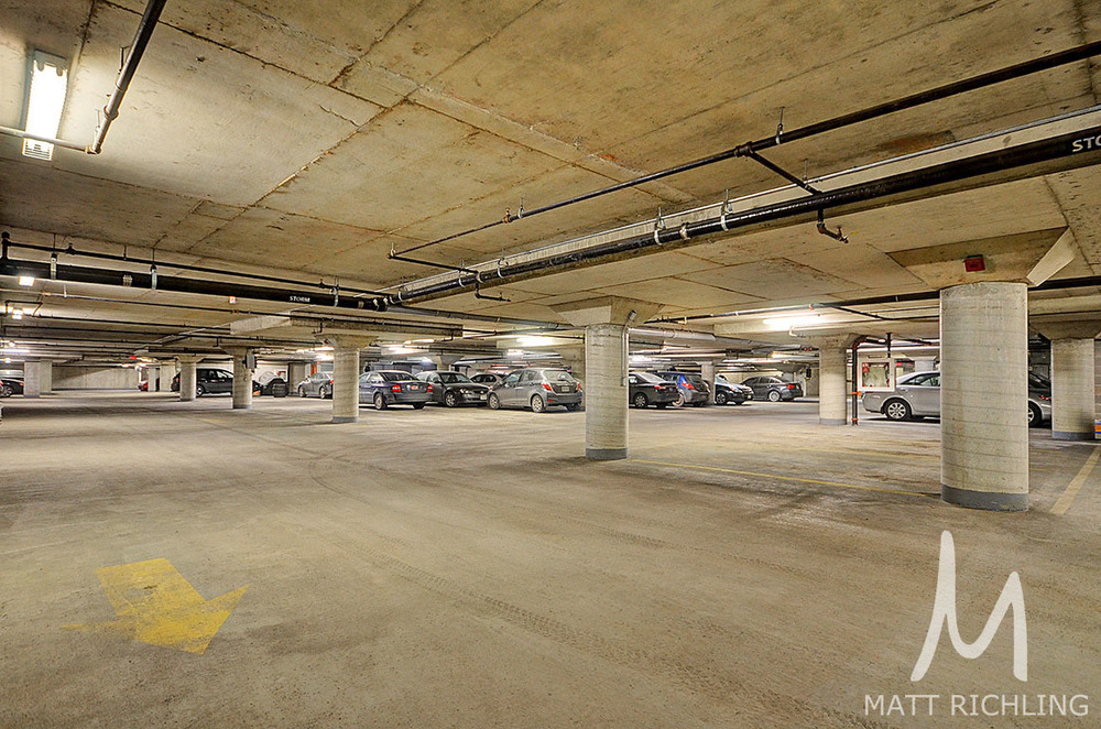 Underground Parking Ottawa Condo