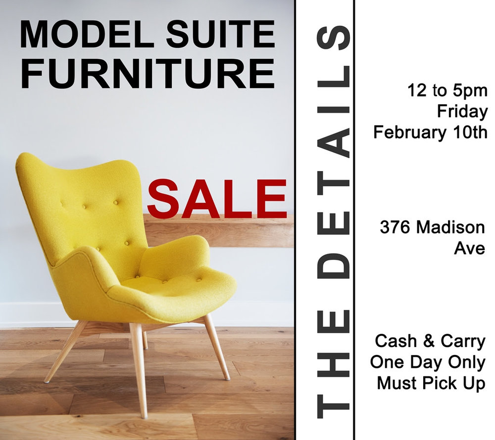 Domicile Model Suite Furniture Sale