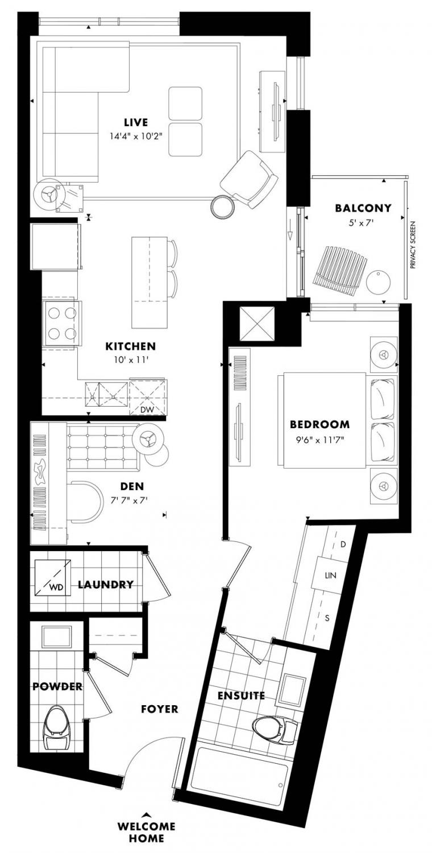 Elmdale Floor Plan