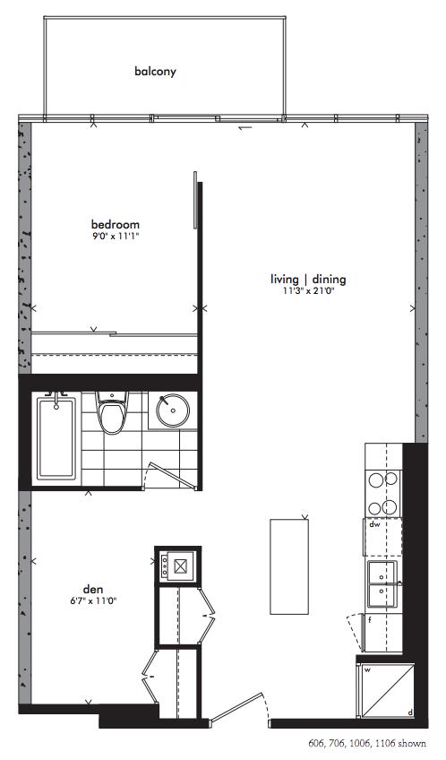 Gotham Ottawa Floorplan 606