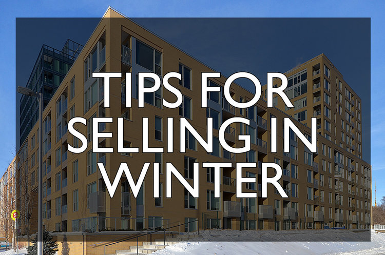 tips for selling an ottawa condo in the winter matt richling
