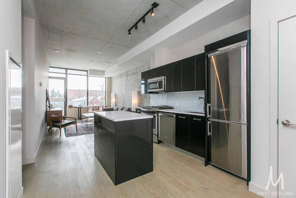 Gotham one bed condo ottawa 224 lyon