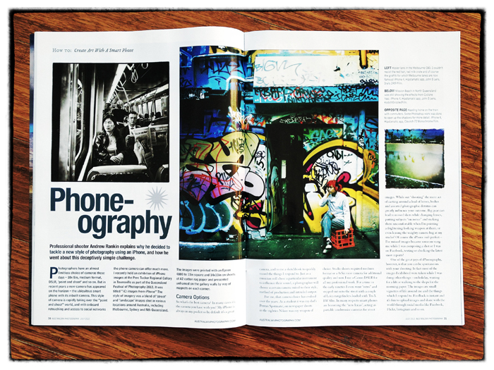 iPhone Magazine Story
