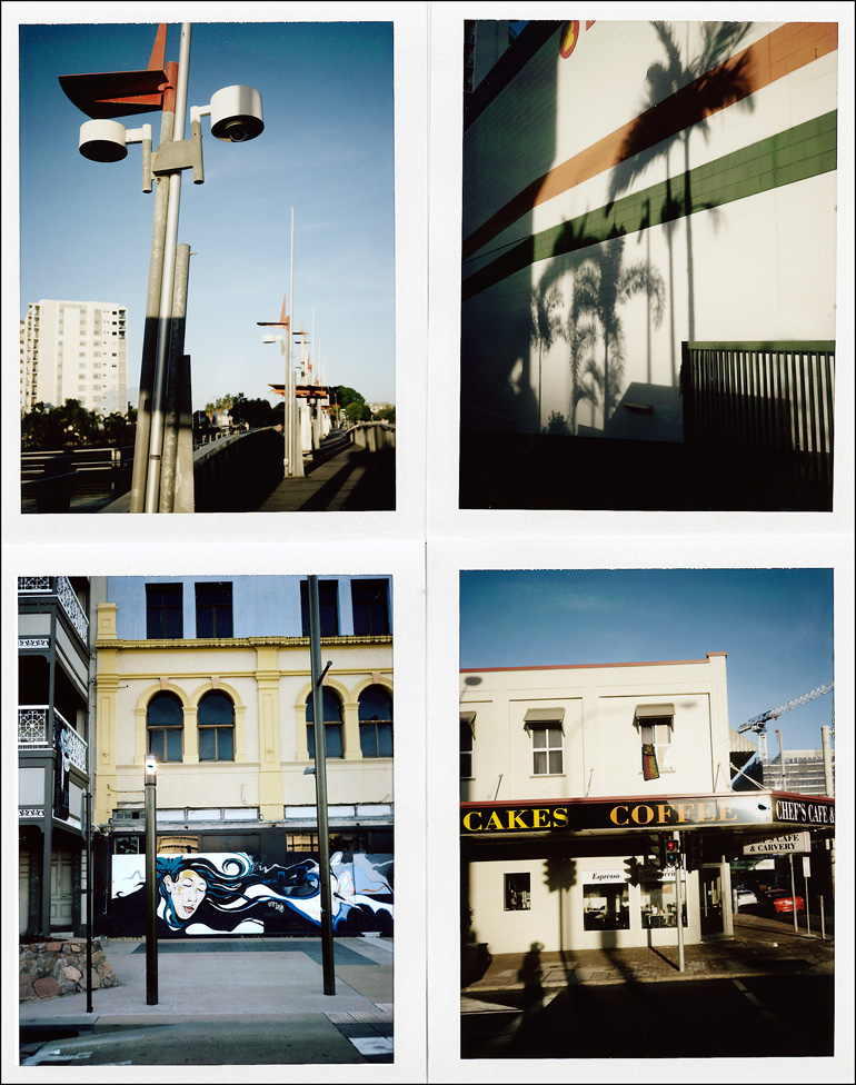 Polaroid street photography