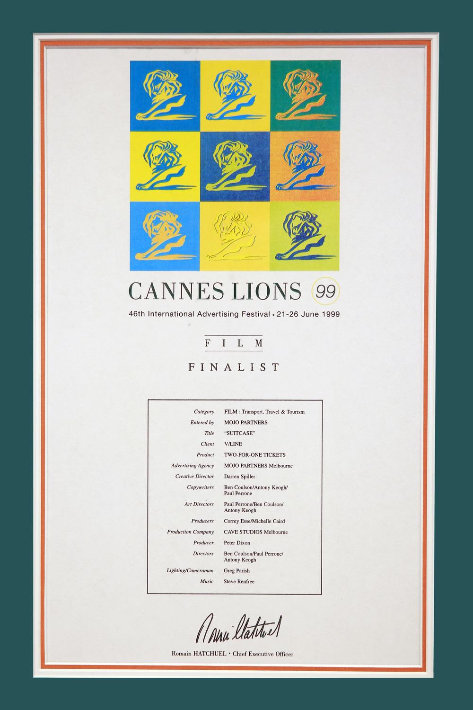 Cannes Lions Nomination_Cave Studios