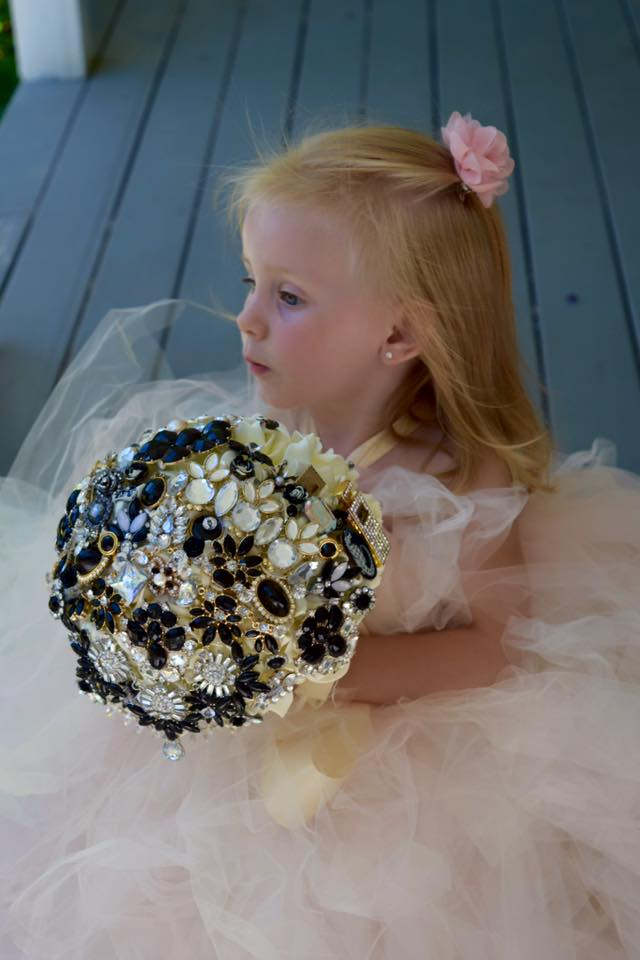 Brooch bouquets for sale or rent. Check out our  Etsy  or  Facebook.
