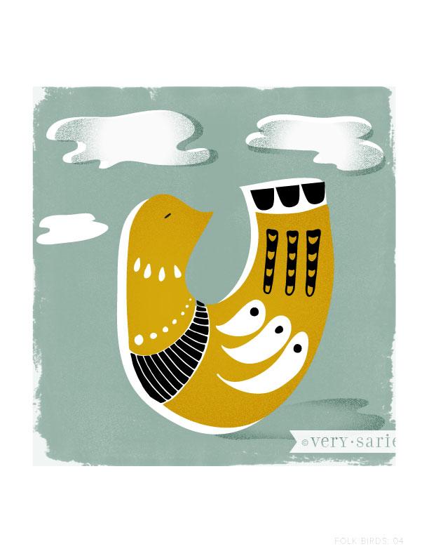 Folk Birds 04