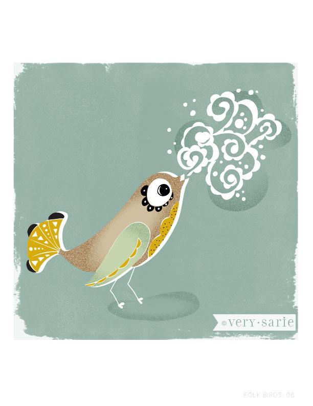 Folk Birds 06