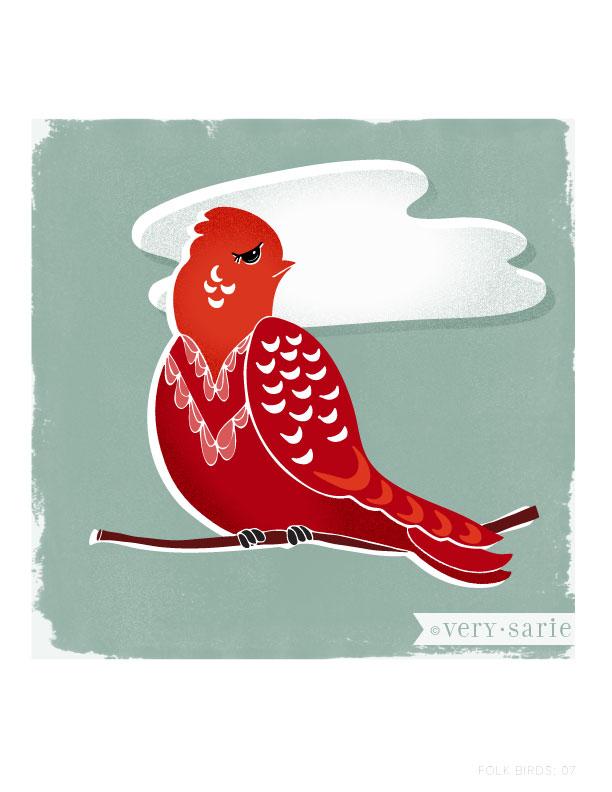Folk Birds 07
