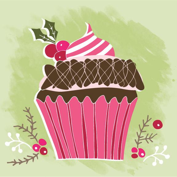 SE-0005 Christmas Cupcakes