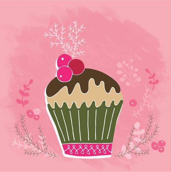SE-0007 Christmas Cupcakes