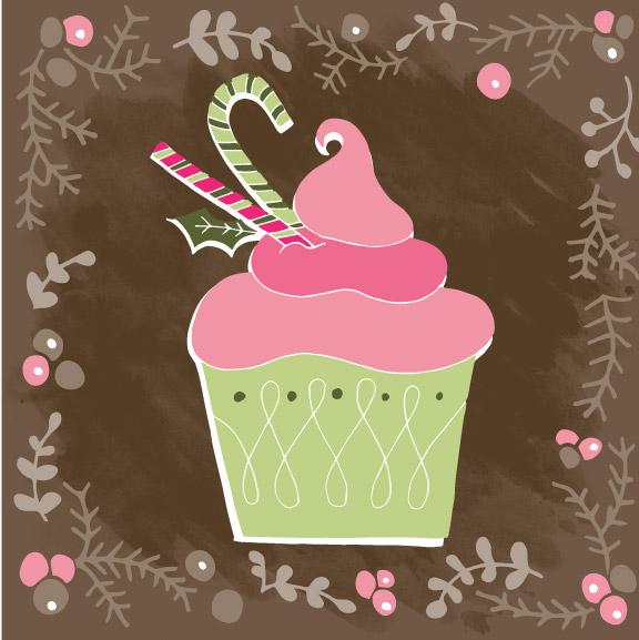 SE-0008 Christmas Cupcakes