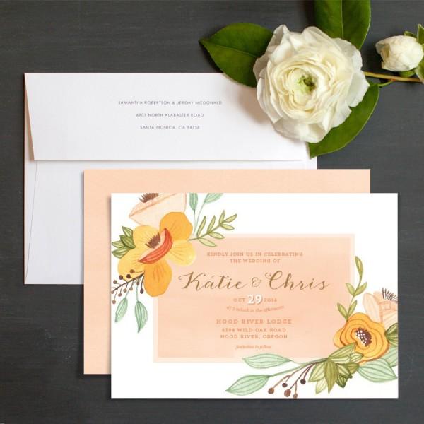Wedding Invitation Designs Elli Very Sarie