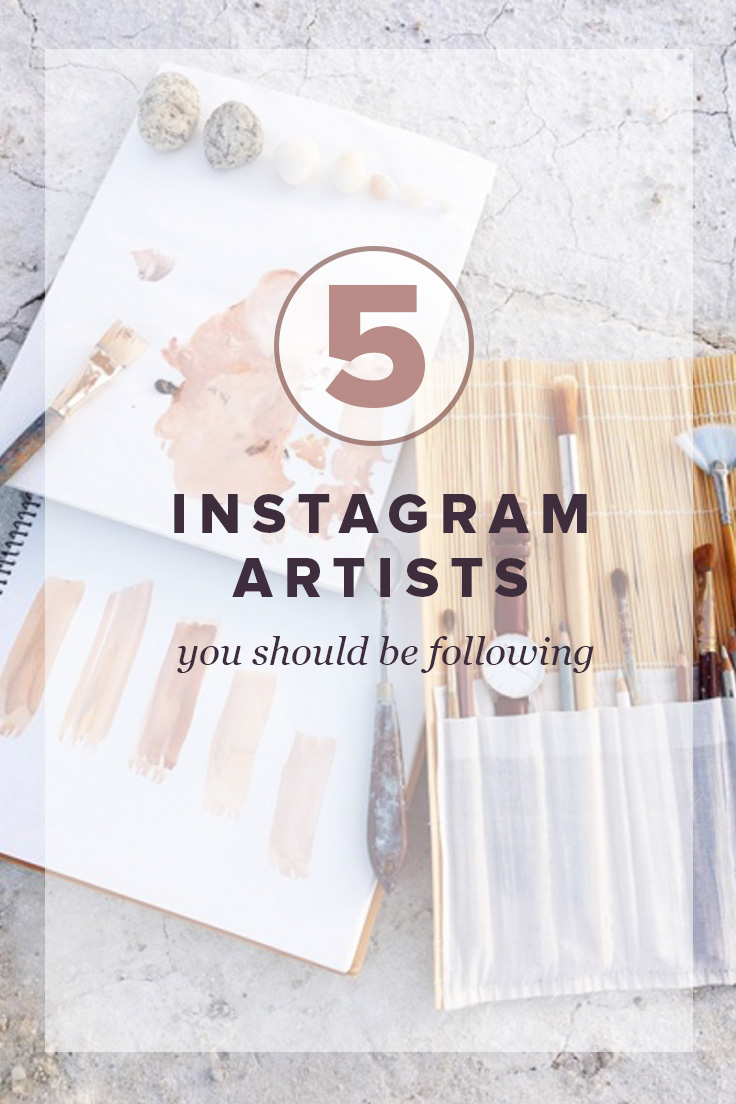 5 Instagram Artist you should be following