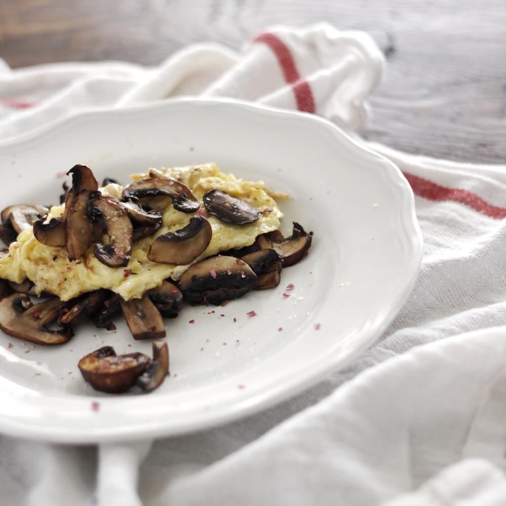 mushroom egg omelet Very Sarie