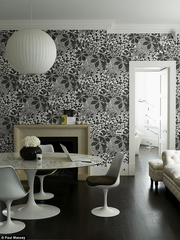 Marthe Armitage hand printed wallpaper designs