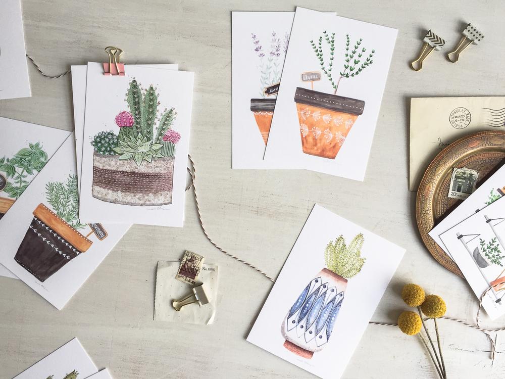 Very Sarie Postcard sets