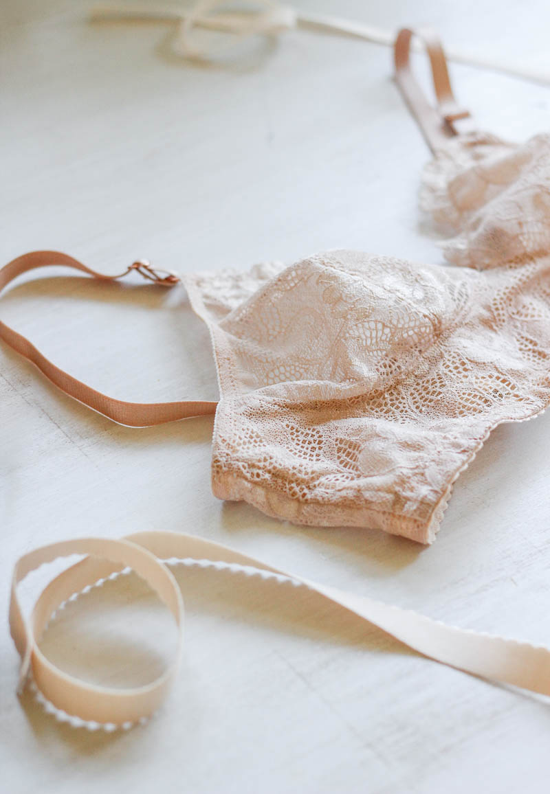 Very Sarie Watson Bra Champagne lace